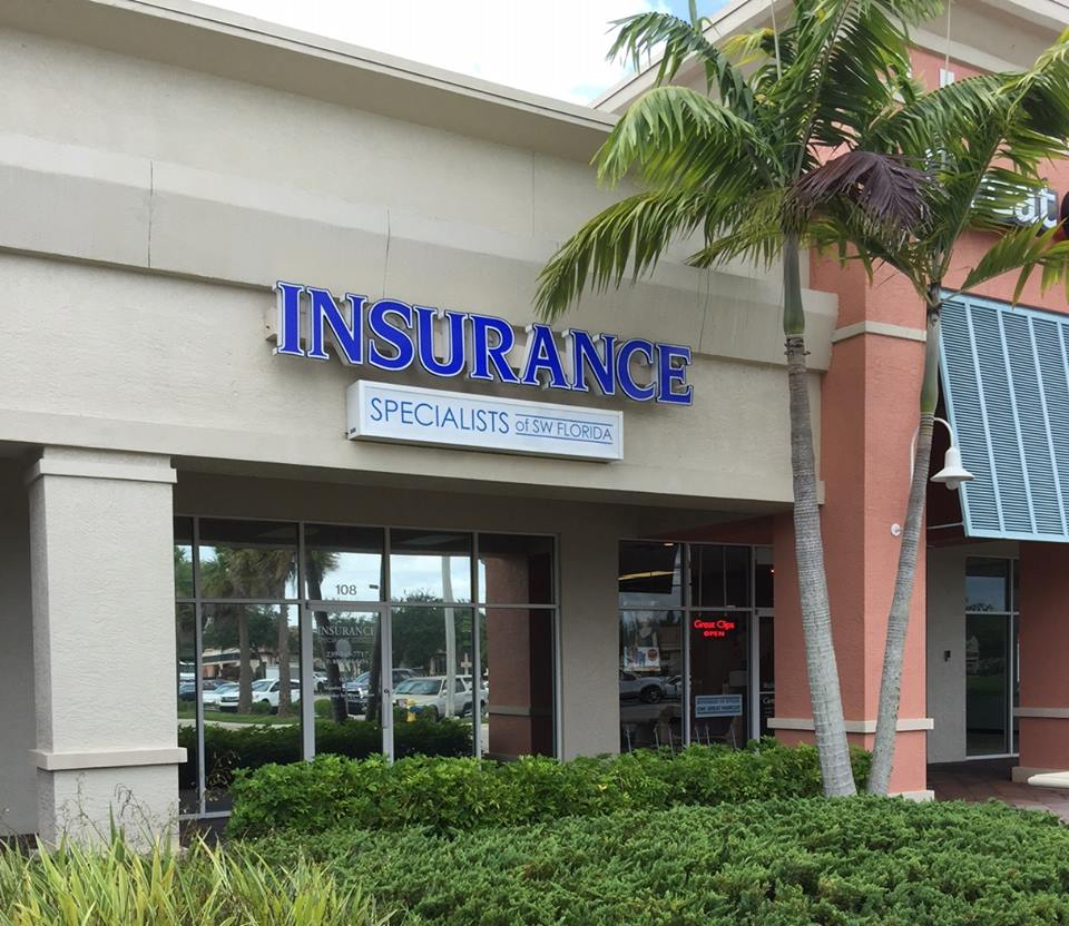 insurance specialists front door